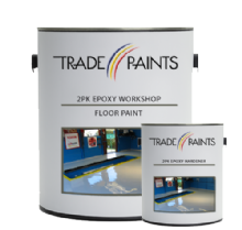 2 Pack Epoxy Workshop Floor Paint